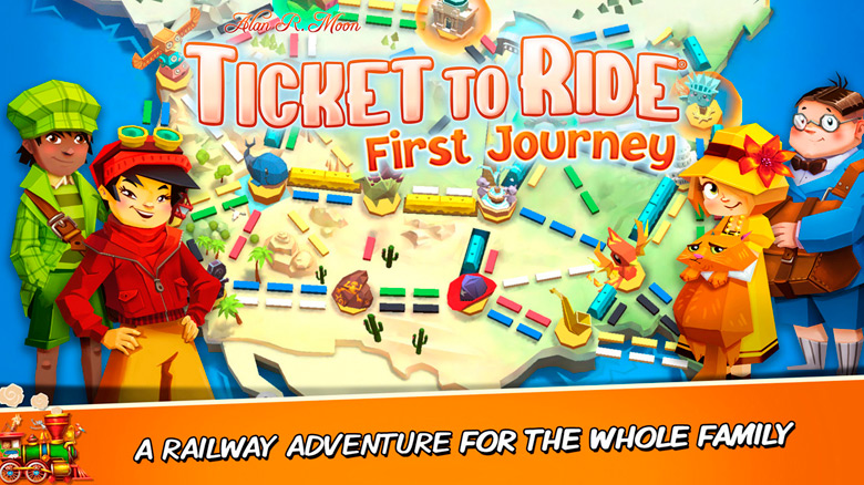 Asmodee Digital выпустила цифровую версию настолки «Ticket to Ride: First Journey»