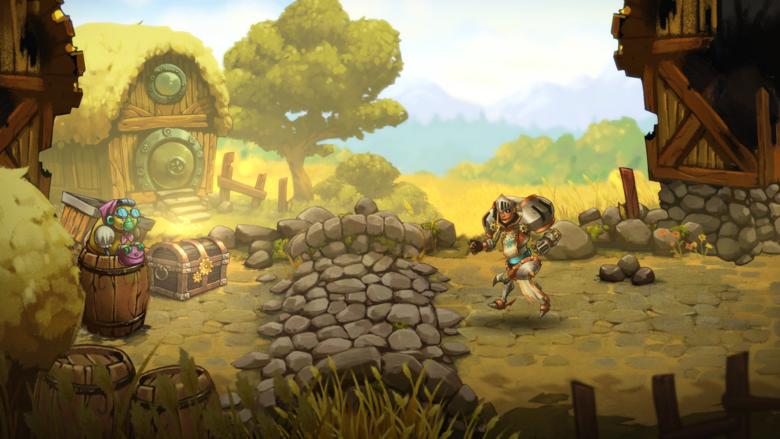 «SteamWorld Quest: The Hand Of Gilgamech» – группа героев против армии тьмы