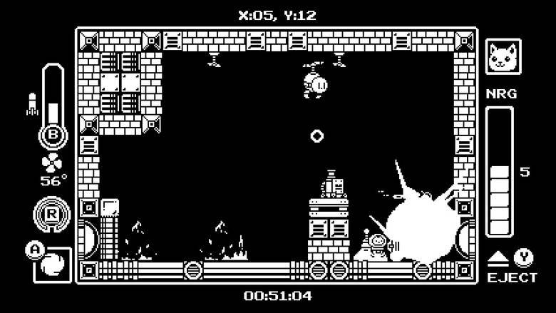 [Nintendo Switch] «Gato Roboto» – кошки-мышки-роботы