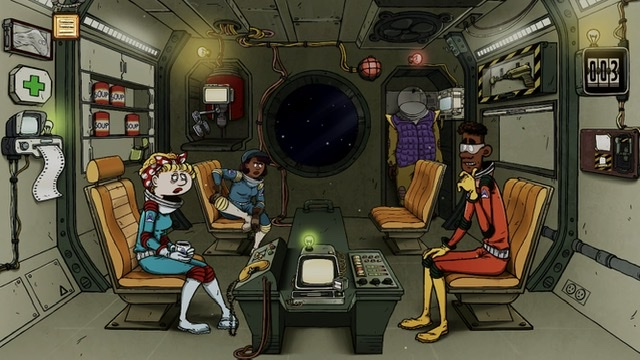 «60 Parsecs!» – взрывные приключения в космосе