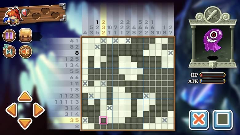 «Pictoquest» – японские кроссворды и RPG в одном флаконе