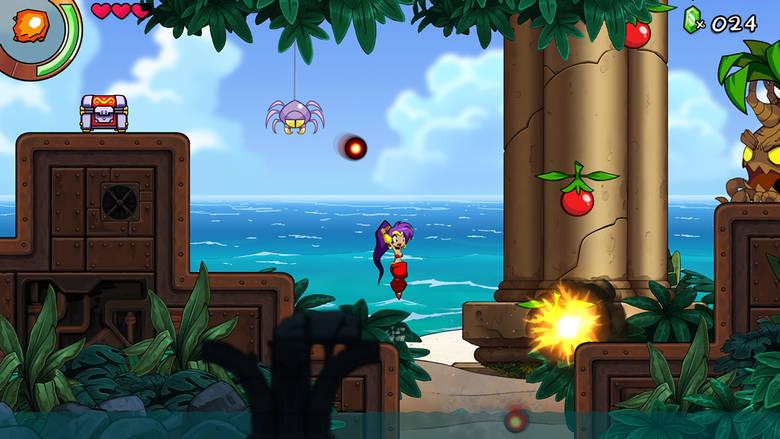 [NS, AA] «Shantae And The Seven Sirens» – испорченный праздник полу-джиннов