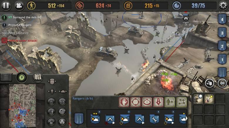 «Company Of Heroes» – хитовая стратегия теперь доступна на iPhone