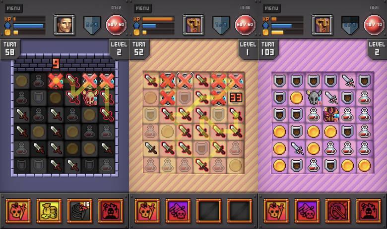 «Dungeon Falan» – занимательная головоломка 3-в-ряд