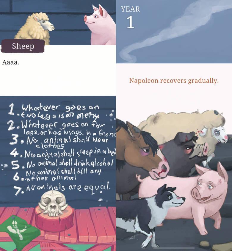 «Orwell's Animal Farm» – в мире животных