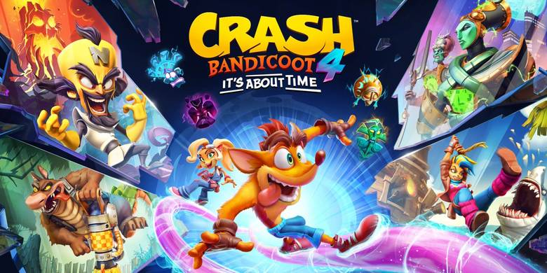 [Nintendo] «Crash Bandicoot 4: It's About Time» разогреет гибридную консоль в марте