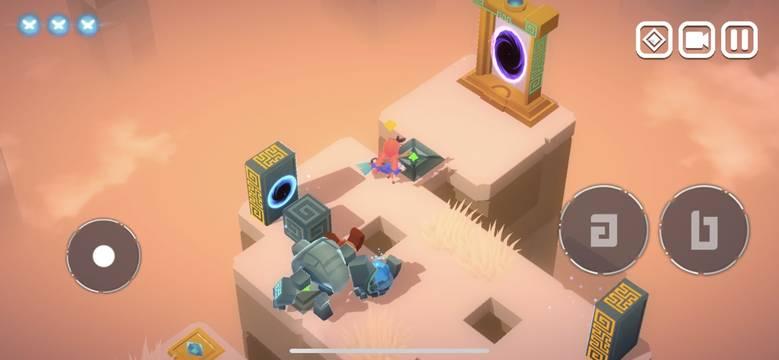 «QV - The Dimension Painter» – красочная головоломка о спасении миров