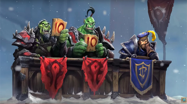 «Hearthstone: Heroes of Warcraft»: вышло дополнение «Большой турнир»!