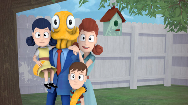 Игра об осьминоге-притворщике «Octodad: Dadliest Catch» выйдет для iOS на этой неделе