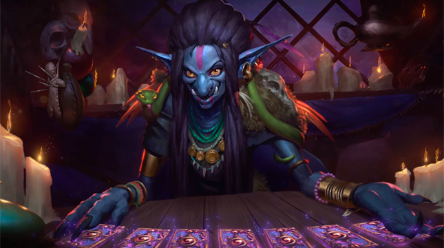 «Hearthstone: Heroes of Warcraft» получит дополнение «Whispers of the Old Gods»