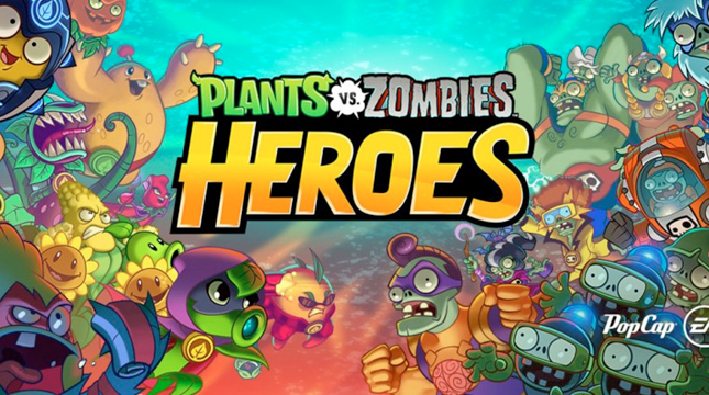 Electronic Arts выпустила ККИ «Plants vs. Zombies Heroes»