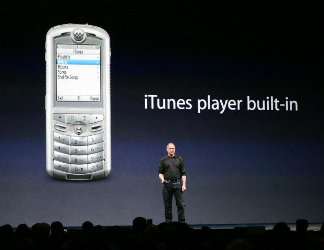 Когда вышел 1 айфон